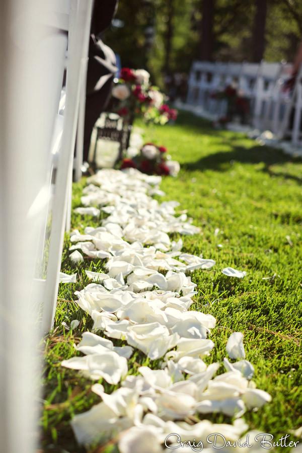Ceremony flowers Brighton Wedding Photographer - Craig David Butler - Oak Pointe CC