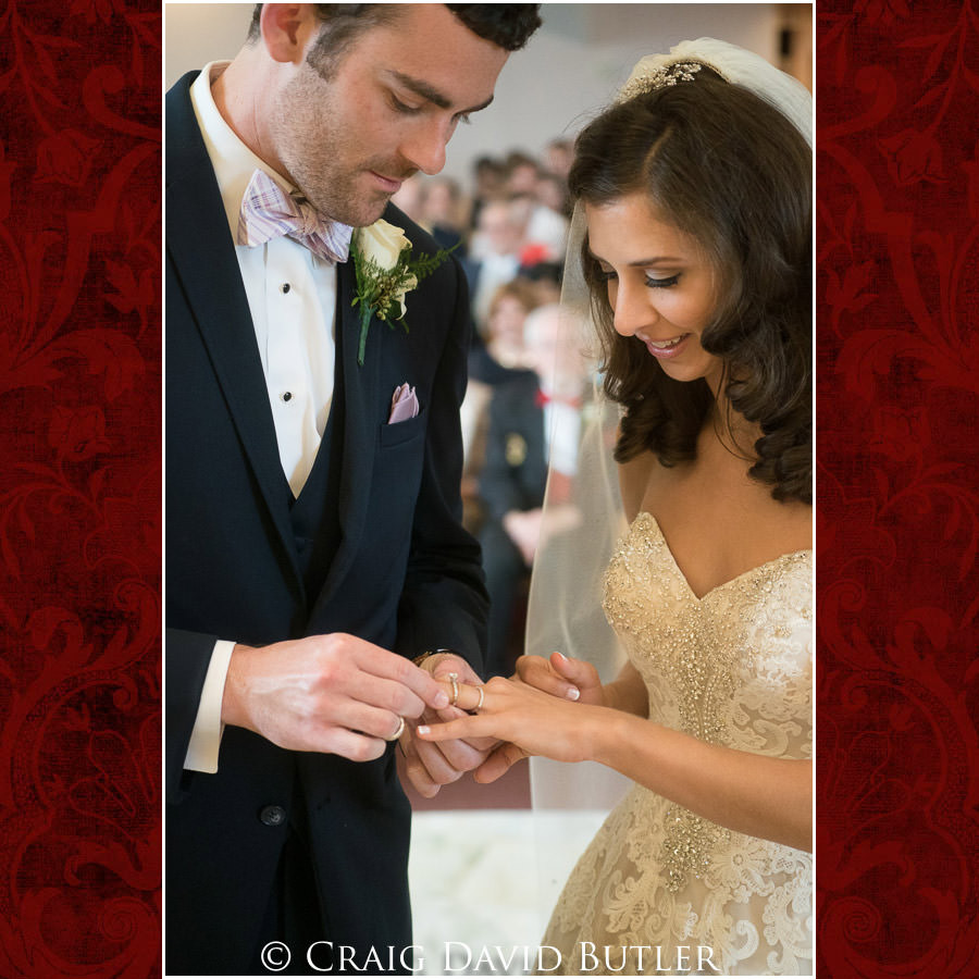 Wedding Rings Dearborn Inn Wedding Photo- Detroit Michigan Wedding Photographer - CDB Studios