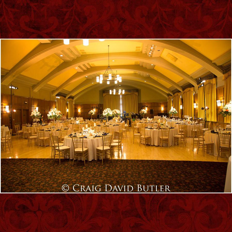 The Michigan League - REception Layout - Wedding Photos, Michigan League, St. Francis Azizi, Ann Arbor MI, CDBStudios