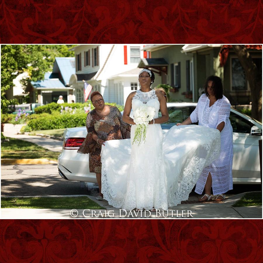 Bride Entrance - South Haven Ceremony Detroit Wedding Photographer - South Haven Wedding, Heritage Hall Reception, WMU, Kalamazoo MI - CDB Studios