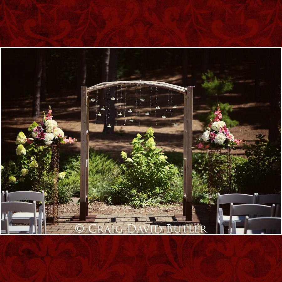 Wedding Ceremony Site Clarkston Wedding Photographer - Oakhurst CC, Craig David Butler