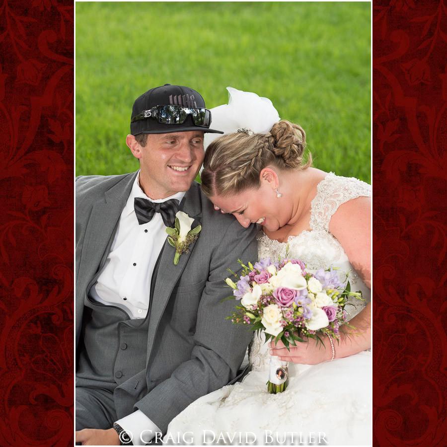 Bride & Groom pose - Michigan-Wedding-Photographer-Novi-CraigDavidButler