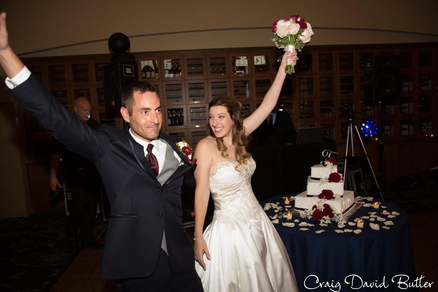 Bride Groom Reception Intro Brighton Wedding Photographer - Craig David Butler - Oak Pointe CC