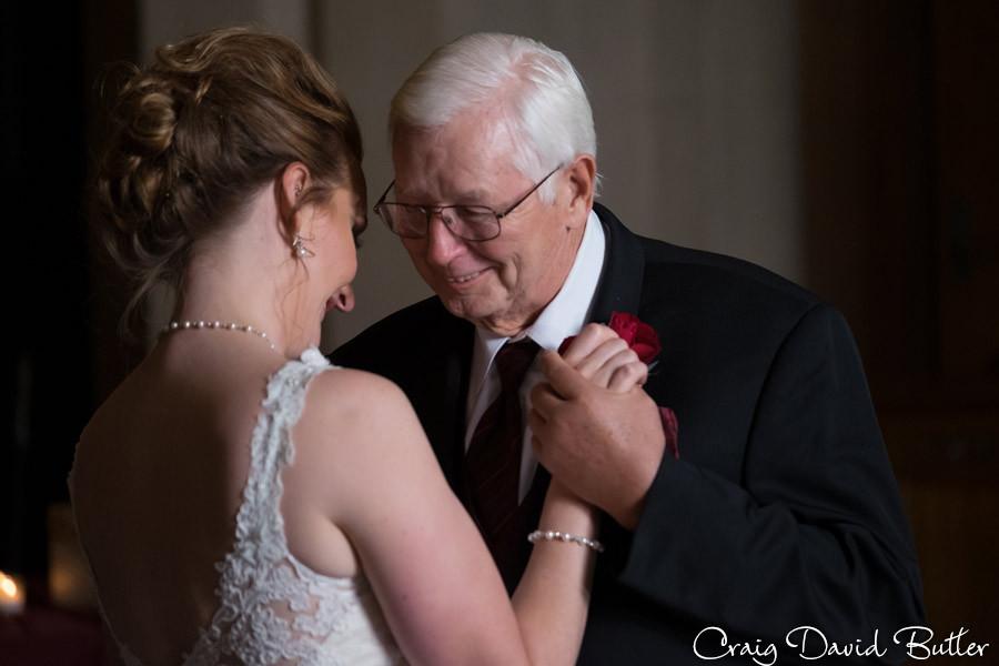 Father Daughter dance Masonic Temple Detroit MI- Wedding Photographer Craig David Butler