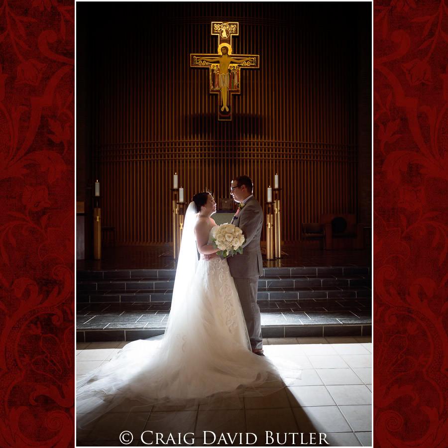Wedding Photo - Wedding Photos, Michigan League, St. Francis Azizi, Ann Arbor MI, CDBStudios