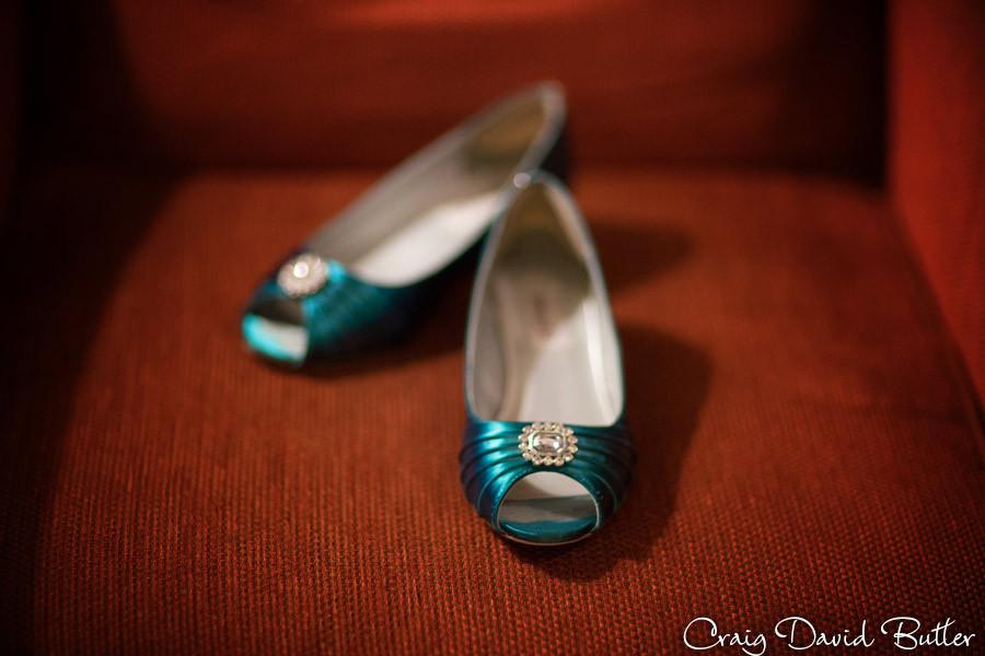 Bride Shoes Marquette Wedding Photography Craig David Butler Detroit