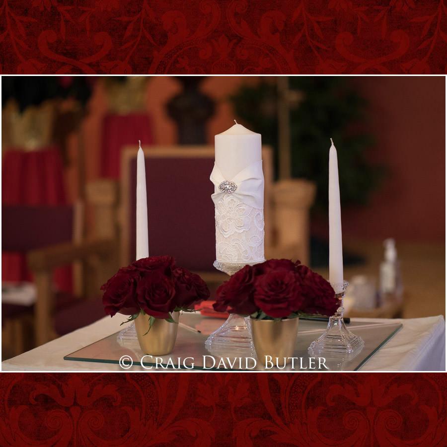 Wedding Unity Candle Detroit Michigan Craig David Butler