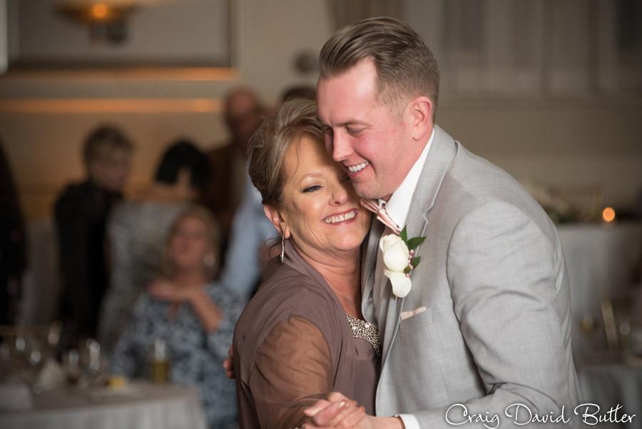 Mother Son dance - St. John's Plymouth Grand Ballroom Wedding, Craig David Butler
