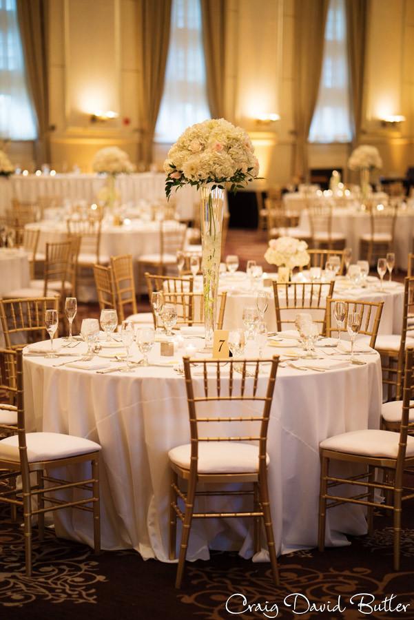 Reception - St. John's Plymouth Grand Ballroom Wedding, Craig David Butler
