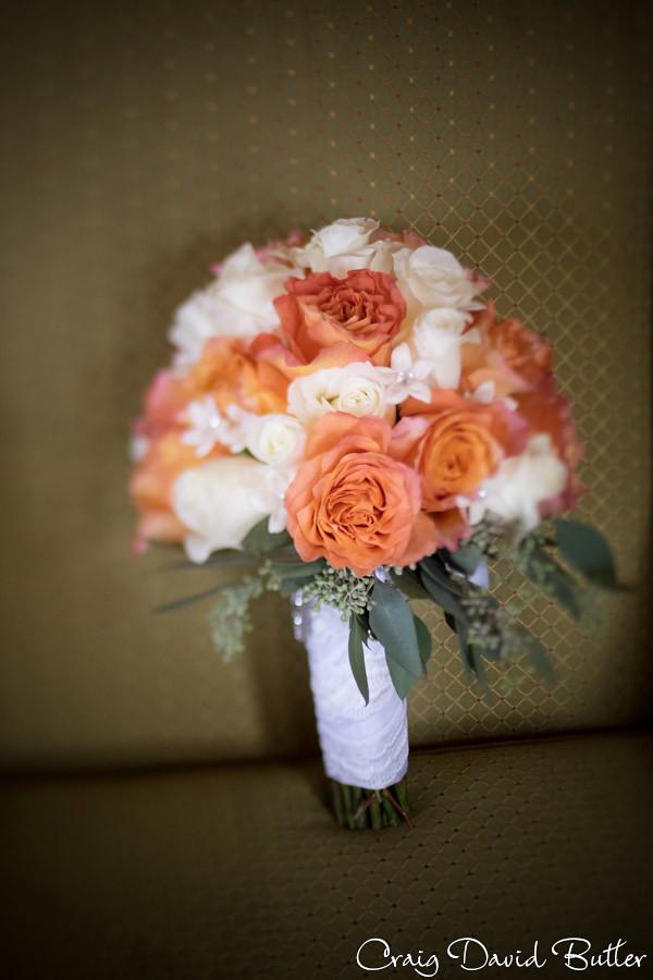 Brides bouquet Dearborn Inn Wedding Photographer, Craig David Butler