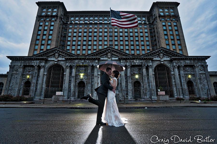 Colony Club wedding photographer Detroit MI - Craig David Butler