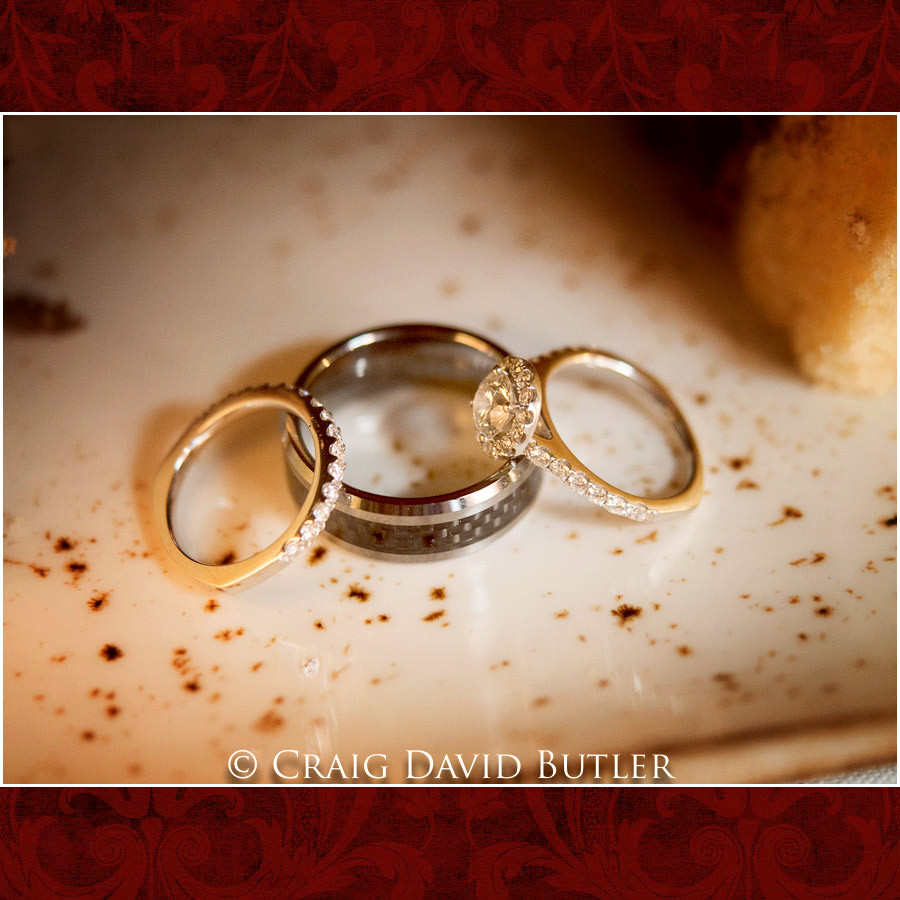 Rings shot Wedding Photographer Michigan, St. Johns Plymouth, CDB Studios