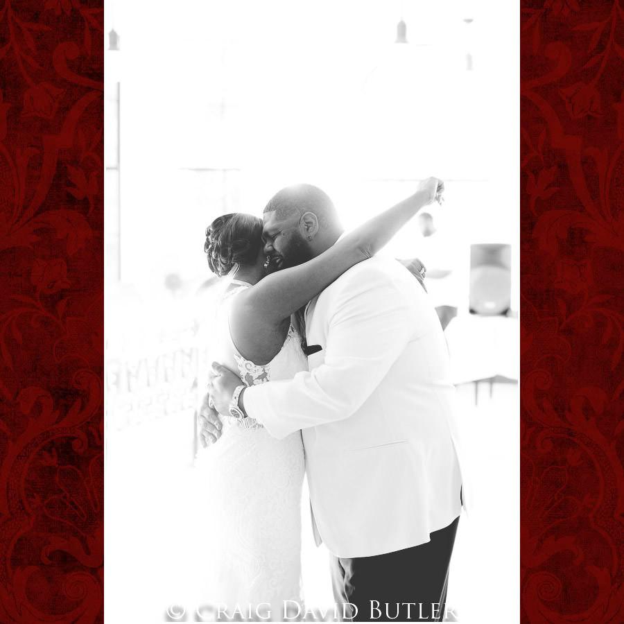 First Dance Detroit Wedding Photographer - South Haven Wedding, Heritage Hall Reception, WMU, Kalamazoo MI - CDB Studios