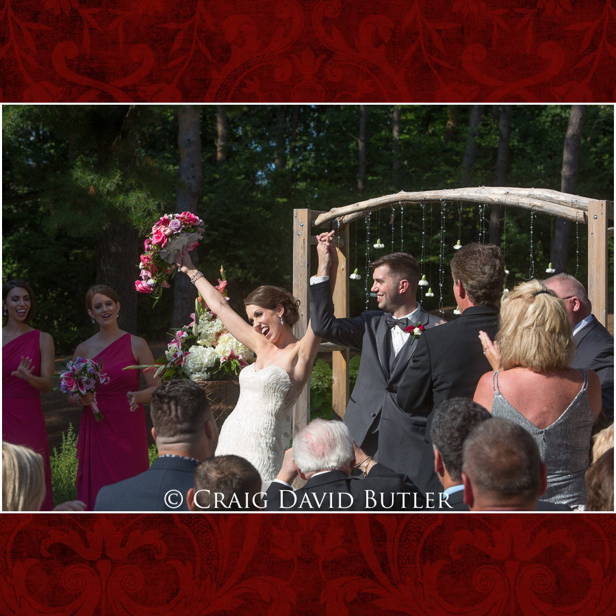Announcement of the bride & groom Clarkston Wedding Photographer - Oakhurst CC, Craig David Butler