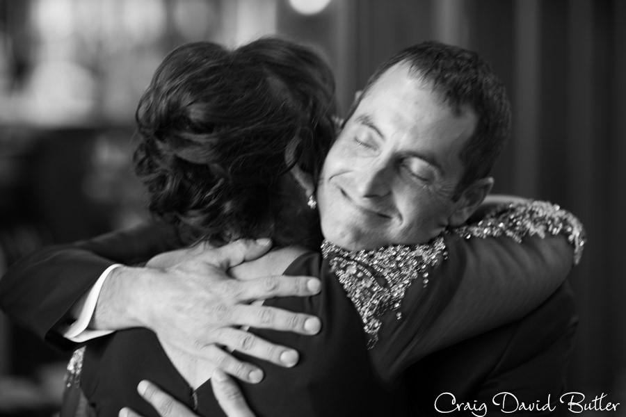 /Groom with MOm Brighton Wedding Photographer - Craig David Butler - Oak Pointe CC