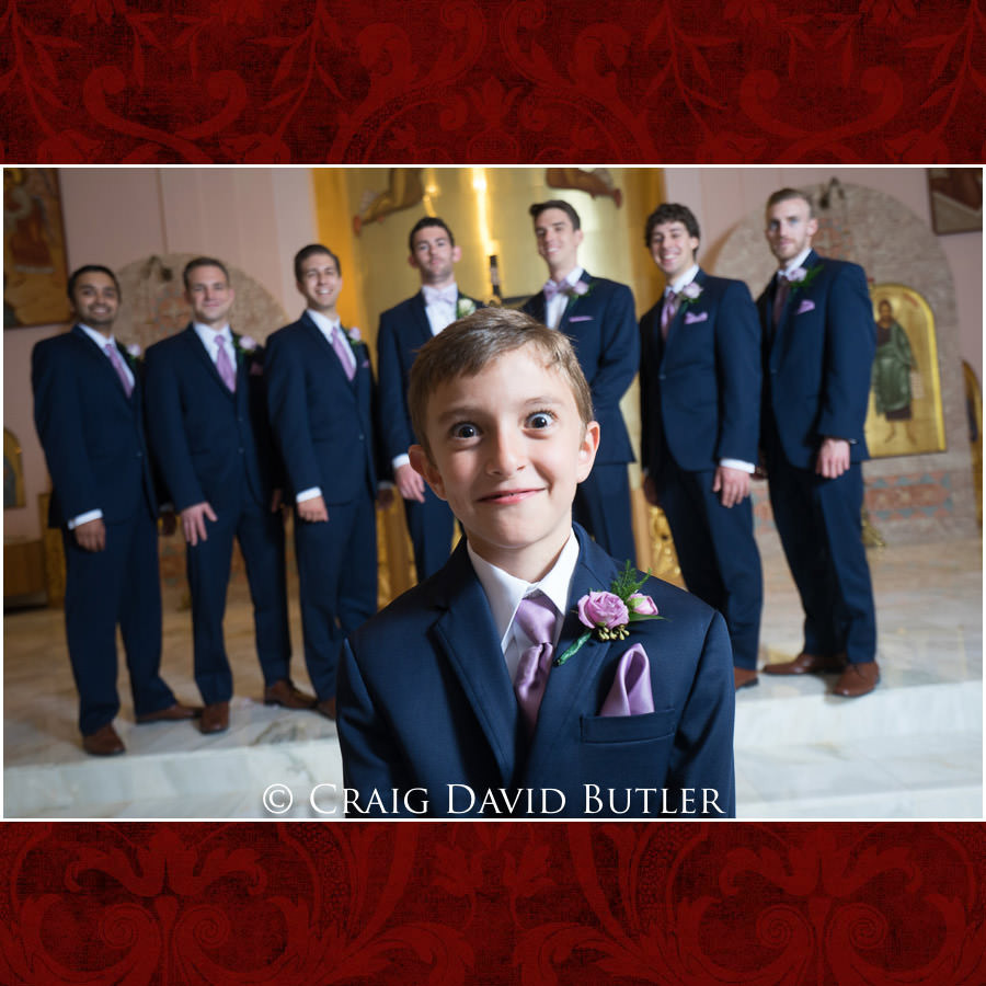 Groomsmen Posed Photos - Dearborn Inn Wedding Photo- Detroit Michigan Wedding Photographer - CDB Studios