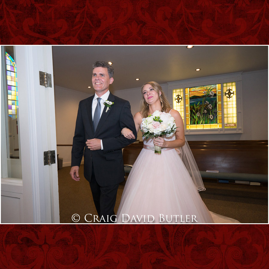 Processional Wedding Photographer Michigan, St. Johns Plymouth, CDB Studios