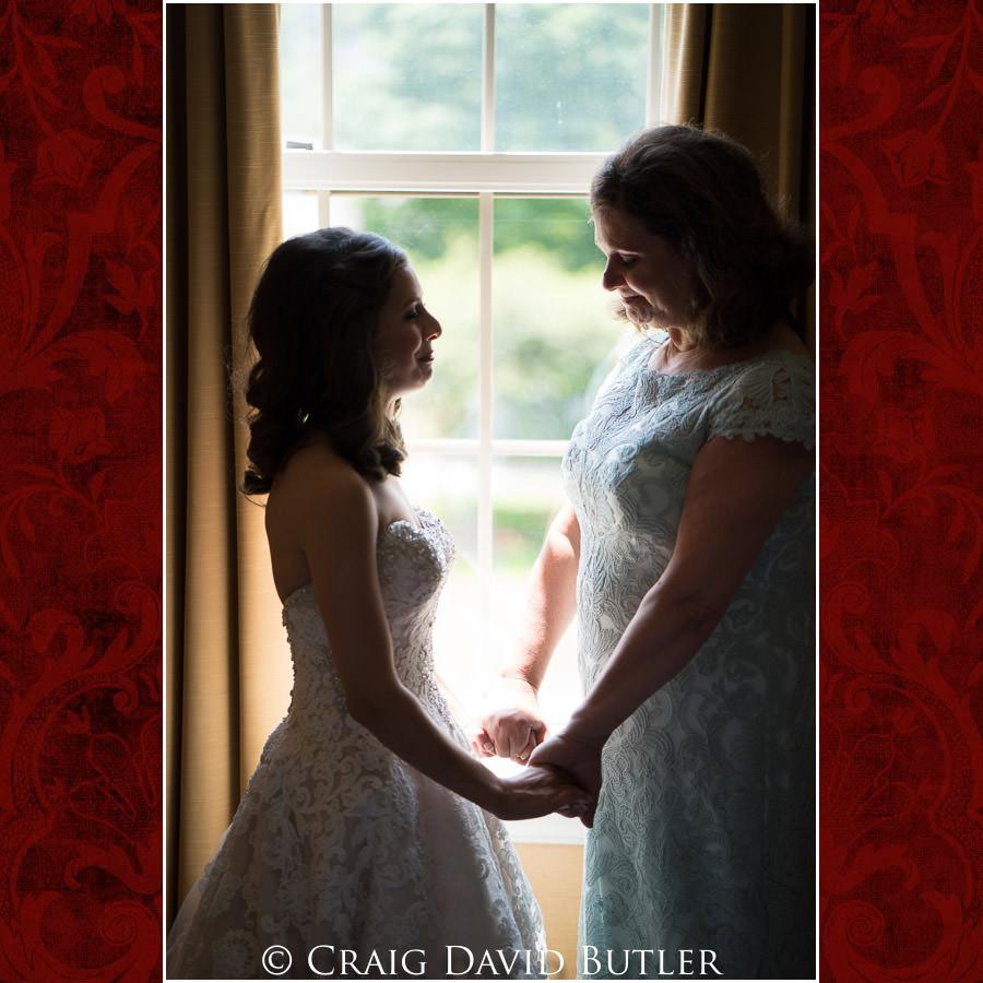 Mom & Bride - Dearborn Inn Wedding Photo- Detroit Michigan Wedding Photographer - CDB Studios