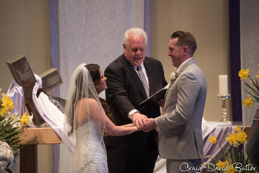 Final Blessing - St. John's Plymouth Grand Ballroom Wedding, Craig David Butler