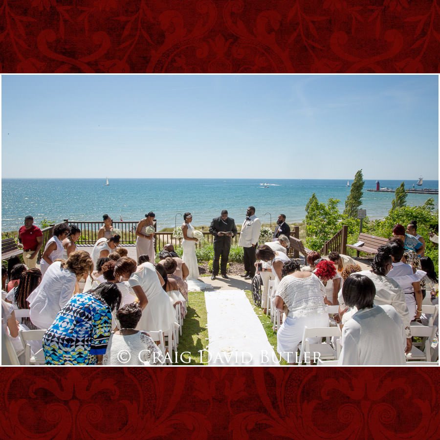 South Haven Wedding Ceremony Detroit Wedding Photographer - South Haven Wedding, Heritage Hall Reception, WMU, Kalamazoo MI - CDB Studios