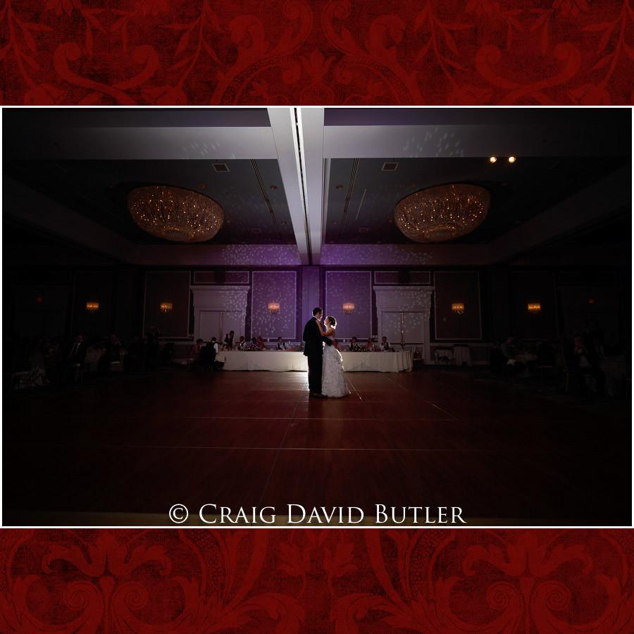 Bride Groom First Dance - Dearborn Inn Wedding Photo- Detroit Michigan Wedding Photographer - CDB Studios