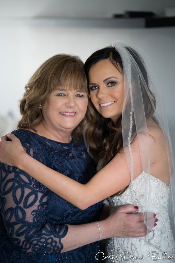 Mom, Bride - St. John's Plymouth Grand Ballroom Wedding, Craig David Butler