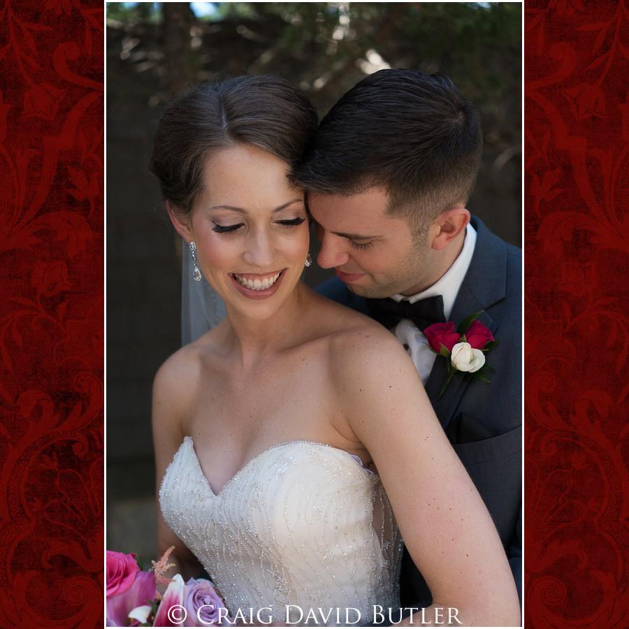 Tender Moment of bride & groom Clarkston Wedding Photographer - Oakhurst CC, Craig David Butler