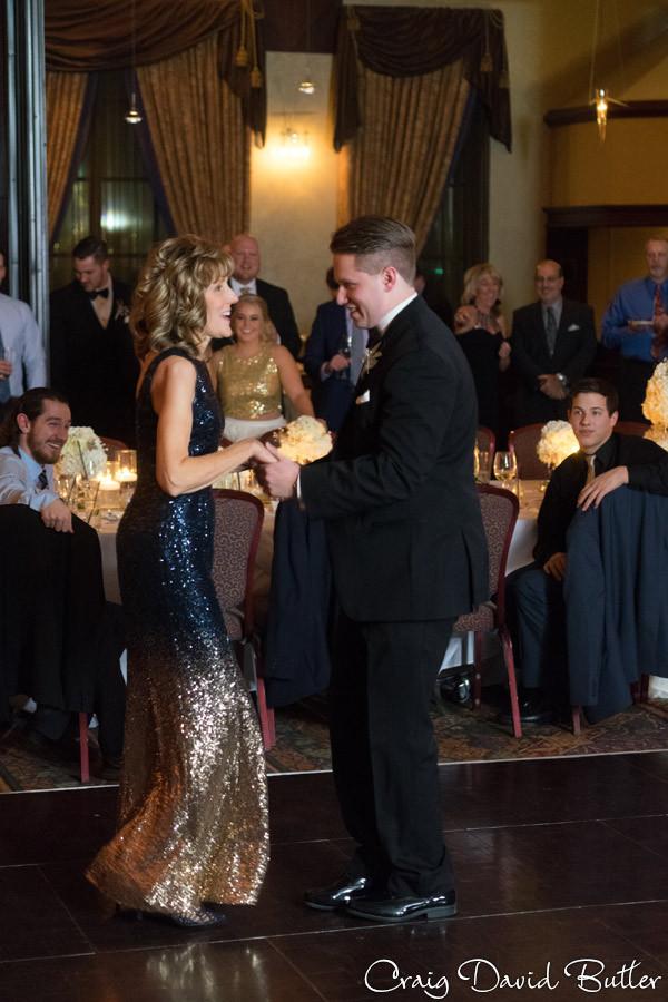Mother Son Dance, Winter wedding at the Reserve in Birmingham MI - Craig David Butler