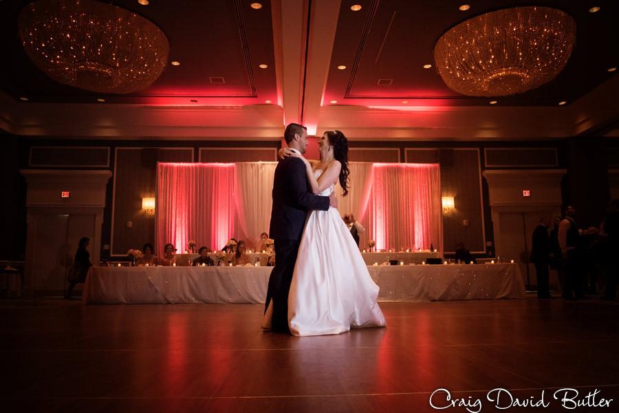 First Dance, Dearborn Inn Wedding Photographer, Craig David Butler