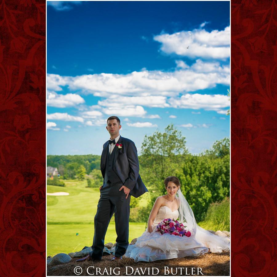 Bride & groom - HDR Photos Clarkston Wedding Photographer - Oakhurst CC, Craig David Butler
