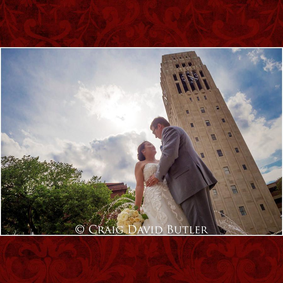 Wedding Photos, Michigan League, St. Francis Azizi, Ann Arbor MI, CDBStudios