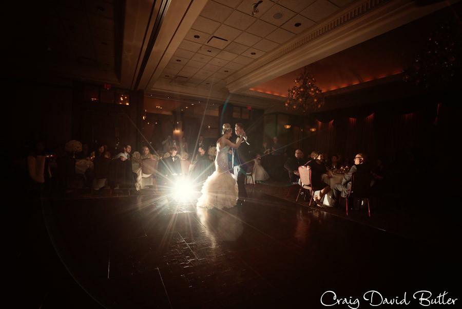 Formal Reception dances, Winter wedding at the Reserve in Birmingham MI - Craig David Butler