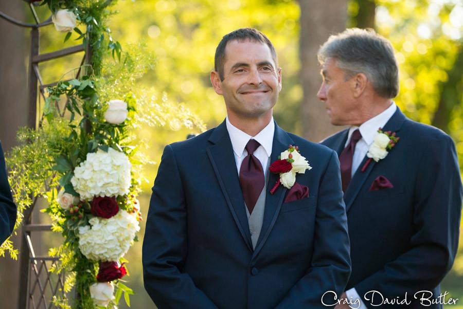 Groom Reactions Brighton Wedding Photographer - Craig David Butler - Oak Pointe CC