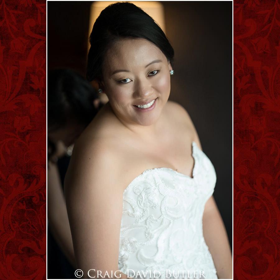 Bride Getting rEady - Wedding Photos, Michigan League, St. Francis Azizi, Ann Arbor MI, CDBStudios