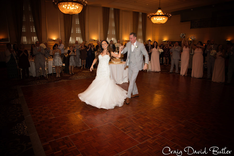 Intros St. John's Plymouth Grand Ballroom Wedding, Craig David Butler