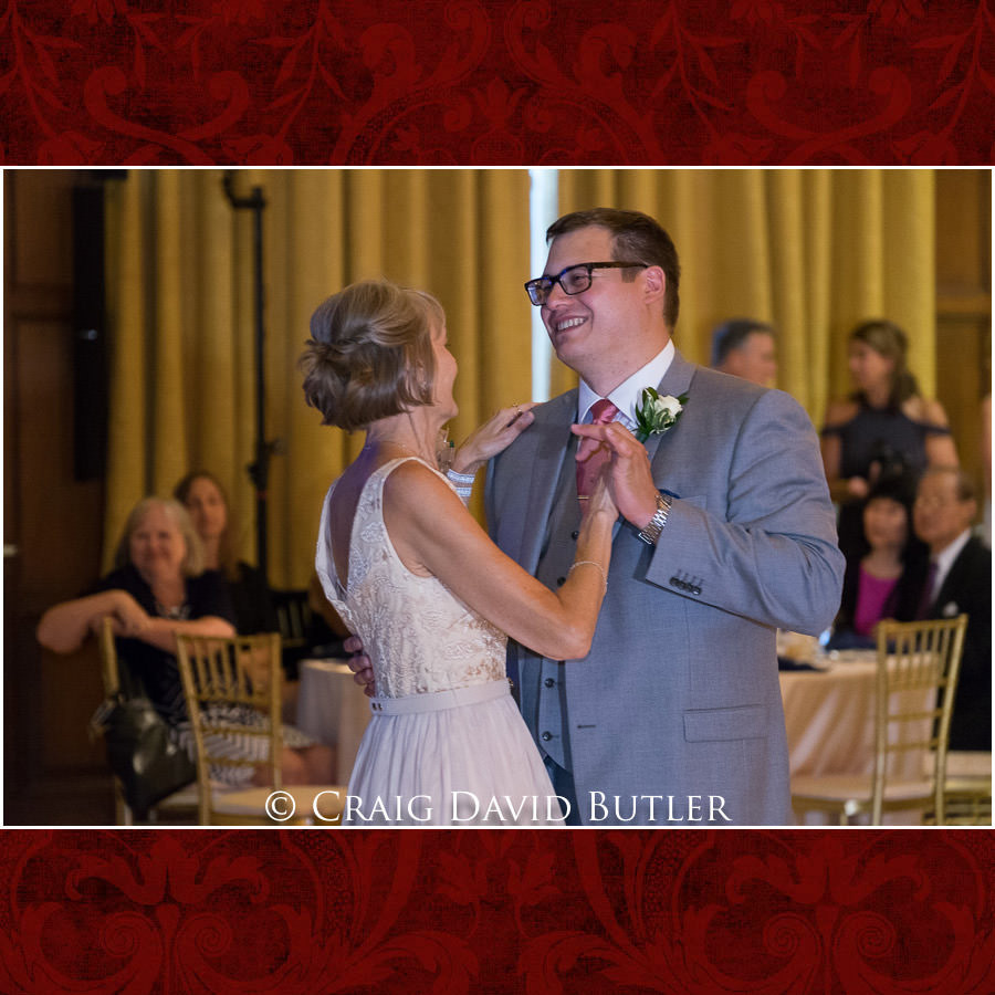 Mother Son dance - Wedding Photos, Michigan League, St. Francis Azizi, Ann Arbor MI, CDBStudios