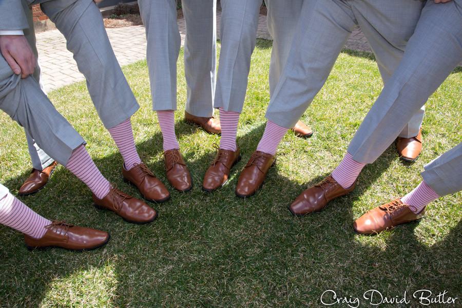 Groomsmen details - St. John's Plymouth Grand Ballroom Wedding, Craig David Butler