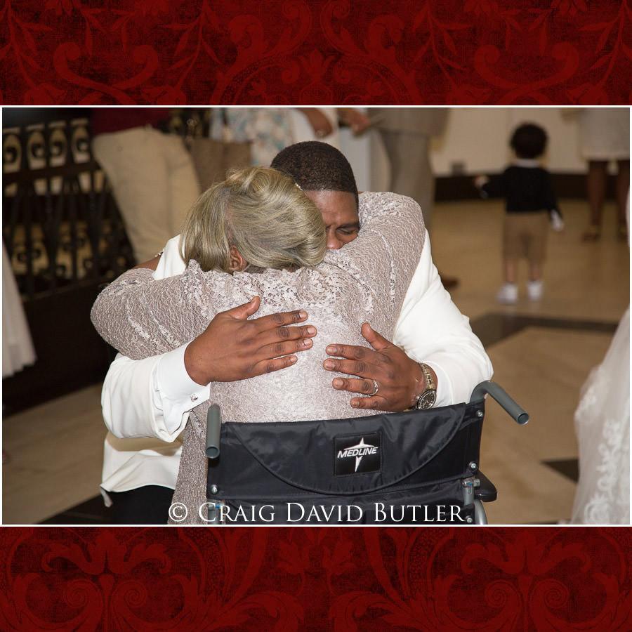 Detroit Wedding Photographer - South Haven Wedding, Heritage Hall Reception, WMU, Kalamazoo MI - CDB Studios - Groom & Mom