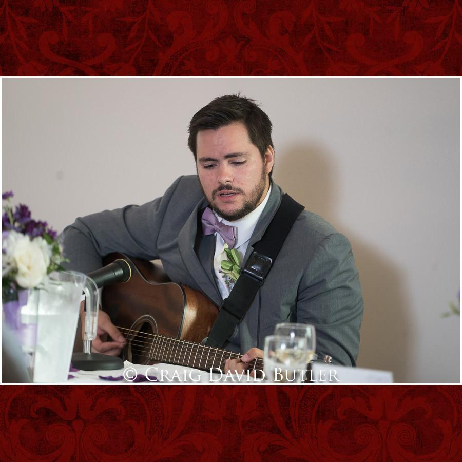 Original Music at the reception - Michigan-Wedding-Photographer-Novi-CraigDavidButler