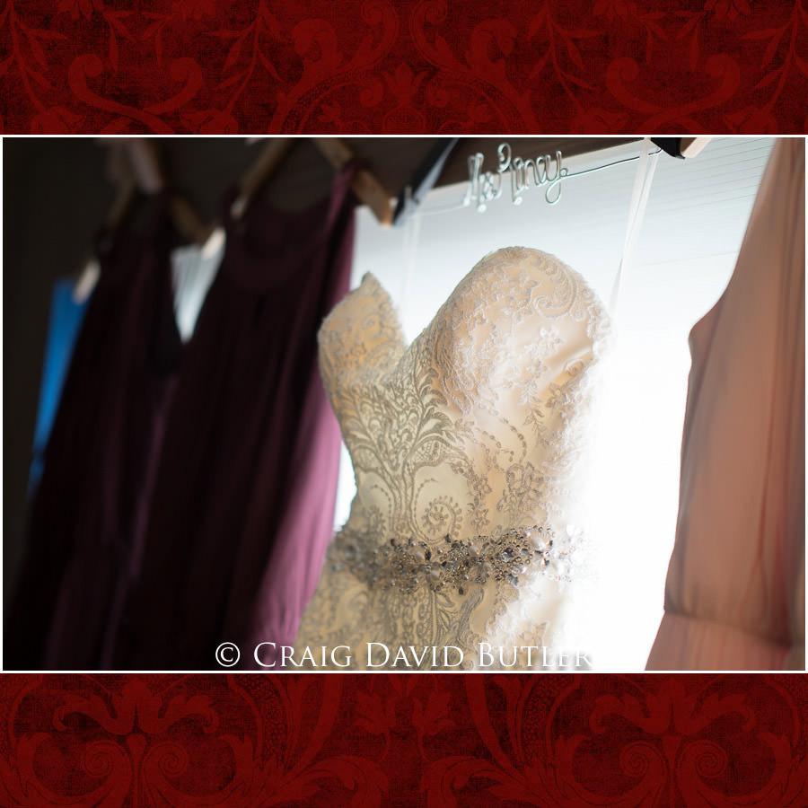 Bride Prep gown Michigan Wedding Photography Craig David Butler