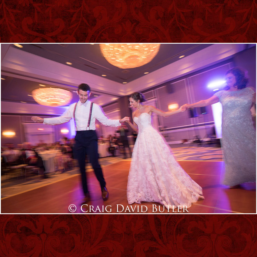 Greek Reception Dancing - Dearborn Inn Wedding Photo- Detroit Michigan Wedding Photographer - CDB Studios