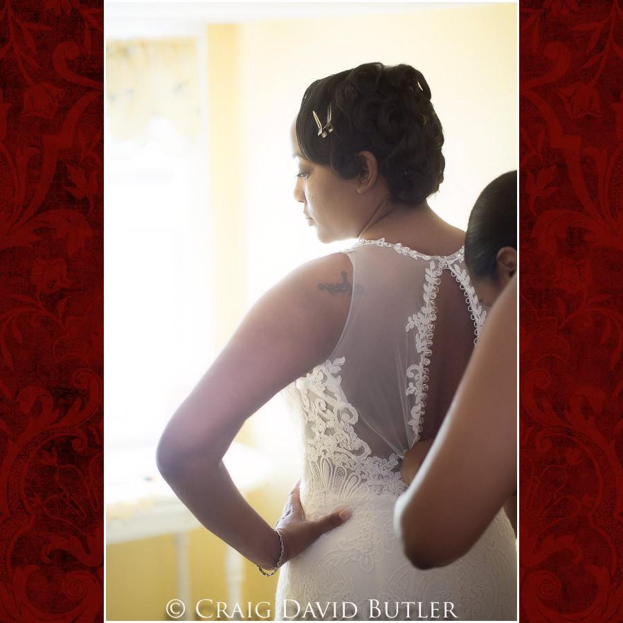 Bride getting ready Detroit Wedding Photographer - South Haven Wedding, Heritage Hall Reception, WMU, Kalamazoo MI - CDB Studios