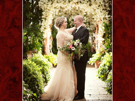 Chelsea & Brian, a winter wedding at Planterra in Farmington, 01/13/2017