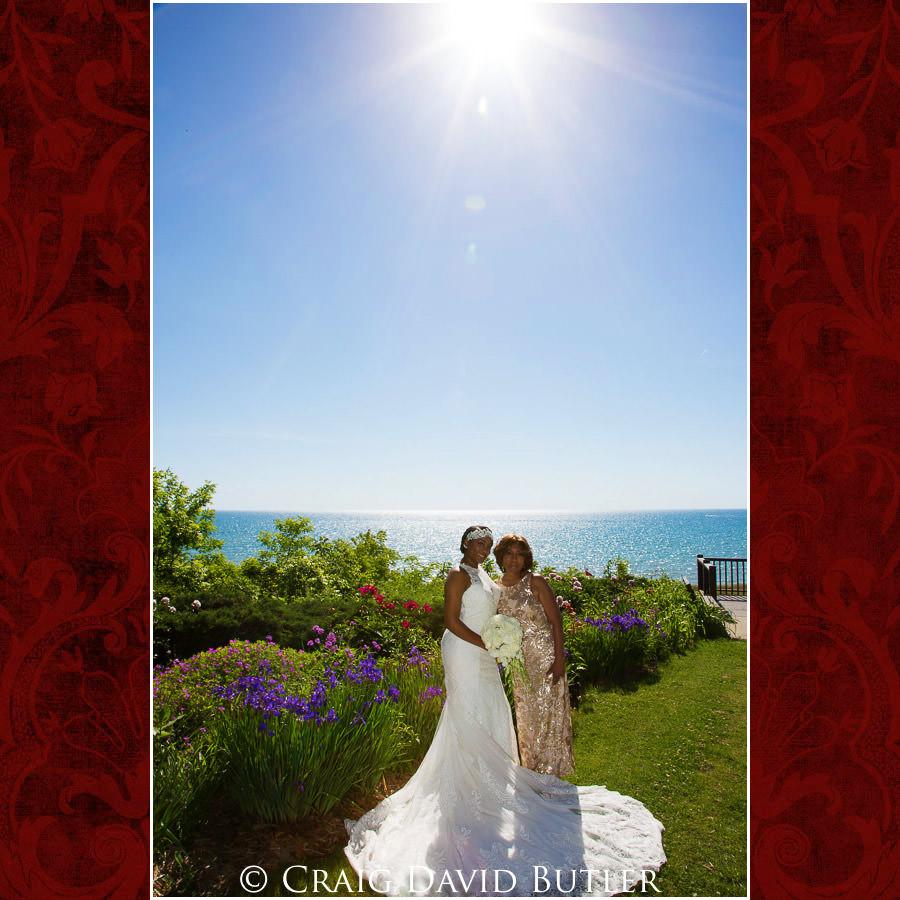 Bride & Mom Detroit Wedding Photographer - South Haven Wedding, Heritage Hall Reception, WMU, Kalamazoo MI - CDB Studios