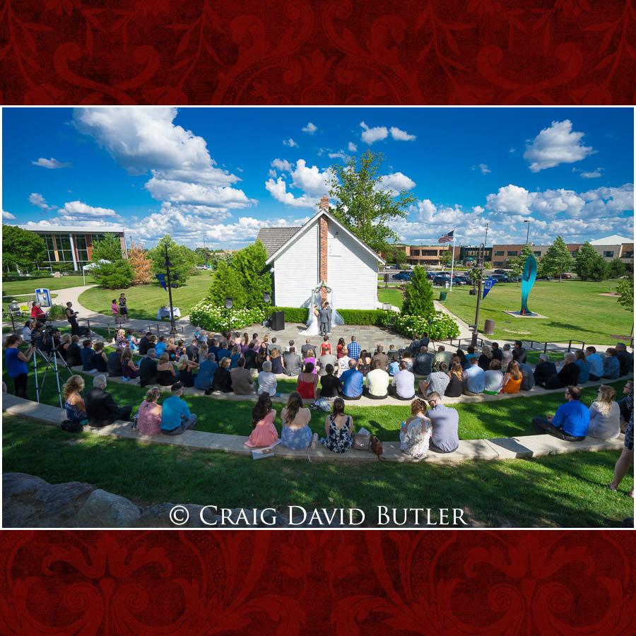 Wedding Ceremony Novi Public Library - Michigan-Wedding-Photographer-Novi-CraigDavidButler