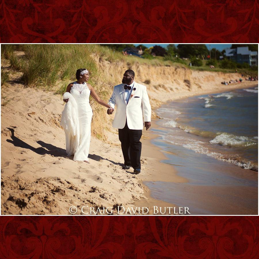 South Haven Beach Detroit Wedding Photographer - South Haven Wedding, Heritage Hall Reception, WMU, Kalamazoo MI - CDB Studios