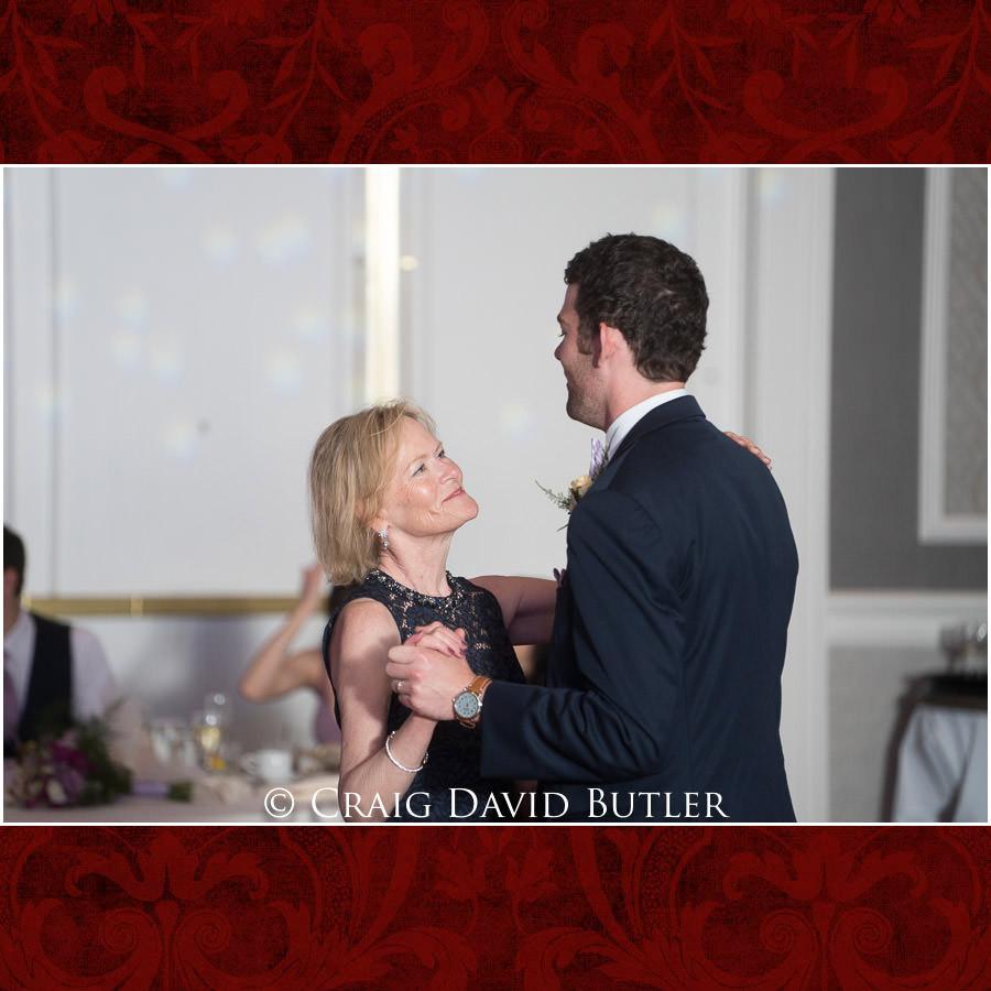 Mother Son - DanceDearborn Inn Wedding Photo- Detroit Michigan Wedding Photographer - CDB Studios