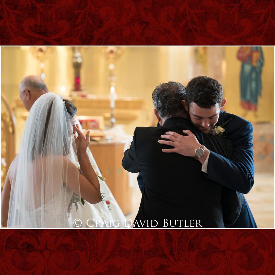 Groom FOB - Dearborn Inn Wedding Photo- Detroit Michigan Wedding Photographer - CDB Studios