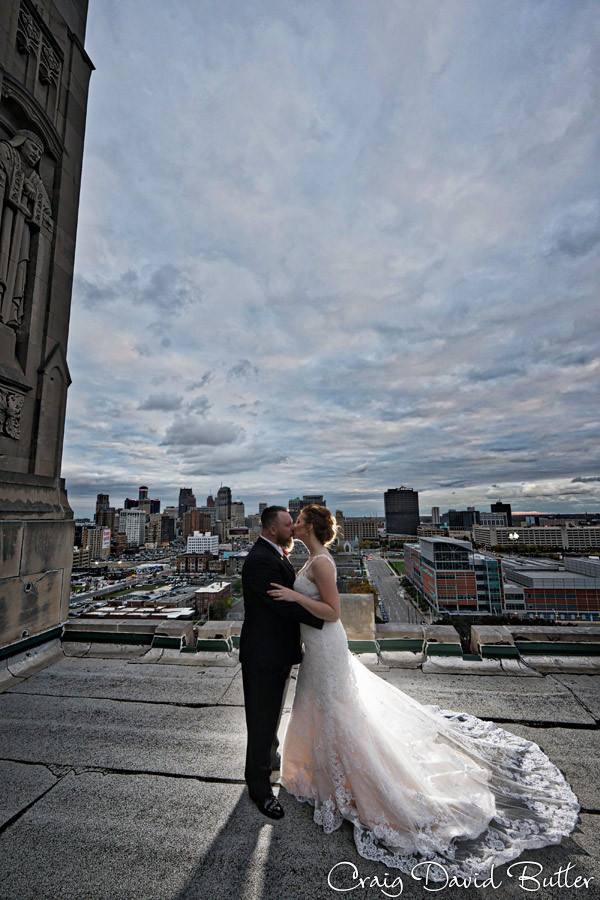 Masonic Temple Detroit MI- Wedding Photographer Craig David Butler