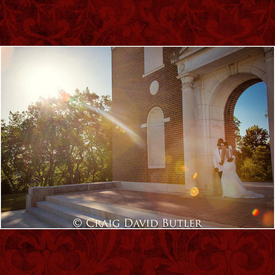 Bride & Groom at North Hall Detroit Wedding Photographer - South Haven Wedding, Heritage Hall Reception, WMU, Kalamazoo MI - CDB Studios